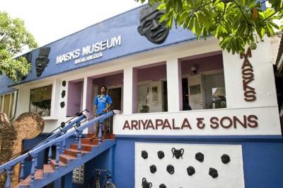 Maskenmuseum Ambalangoda