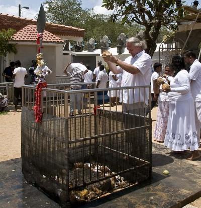 Kokosnuss-Ritual