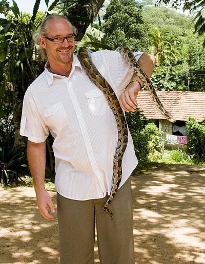 Schlangenfarm Python